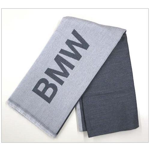 BMW純正 ウール・ストール(ライト・グレー/ダーク・グレー)