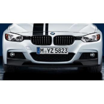 BMW純正 M Performance エアロダイナミック・パッケージ フロント・スポイラー・セット(艶消し黒)(F30/F31)