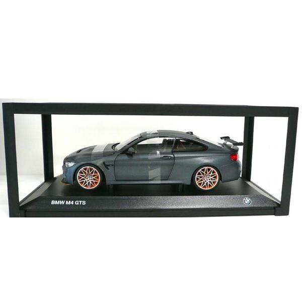 BMW ミニチュアカー M4 GTS(サイズ:1/18)(フローズンダークグレー)