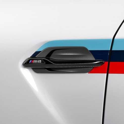 BMW純正 M Performance サイド・ギル ハイグロス・ブラック(F87 M2)