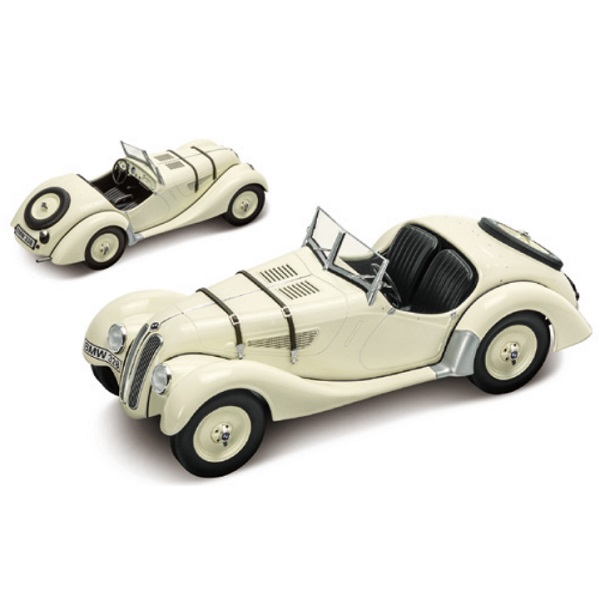 BMW ミニチュアカー Heritage Collection BMW328(1937)(サイズ:1/18)