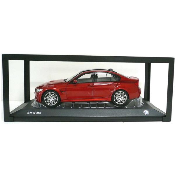 BMW ミニチュアカー M3(F80)(サイズ:1/18)(サキール オレンジ メタリック)