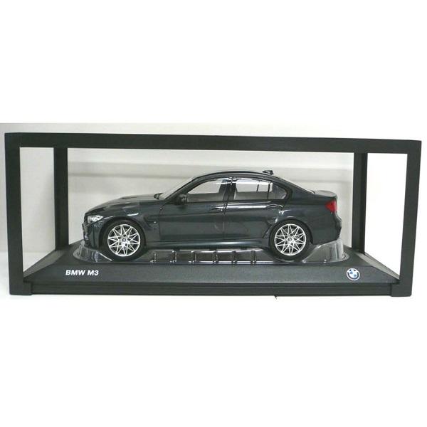 BMW ミニチュアカー M3(F80)(サイズ:1/18)(ミネラル グレー メタリック)
