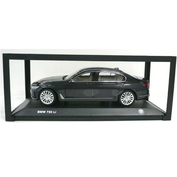 BMW ミニチュアカー 7シリーズ 750Li G12(サイズ:1/18)(ソフィスト グレー メタリック)