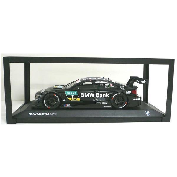 "BMW ミニチュアカー M4 DTM 2016 ""BMW Bank""(サイズ:1/18)"