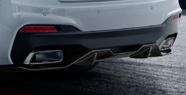 BMW純正 M Performance エアロダイナミック・パッケージカーボン・リヤ・ディフューザー(G30/G31)