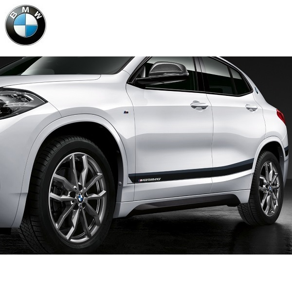 BMW純正 M performance サイドストライプセット(Frozen Black)(X2 F39)