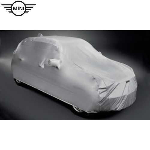MINI純正 ボディ・カバー 起毛タイプ(F56/F57)(John Cooper Worksモデル/エアロ装備車/リヤ・スポイラー装備車用)