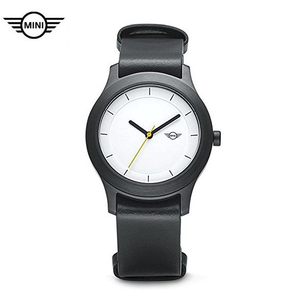 MINI純正 腕時計 (White Dial)(ホワイト/ブラック)