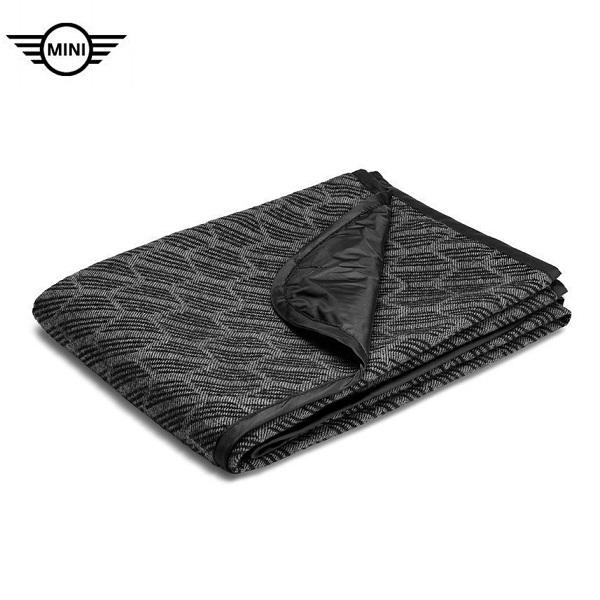 品質一番の MINI純正 ブランケット(ブラック/グレー), r2-style:cffd8a88 --- business.personalco5.dominiotemporario.com
