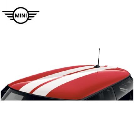 MINI純正 スポーツ・ストライプ ルーフ・セット(F55)(ホワイト)