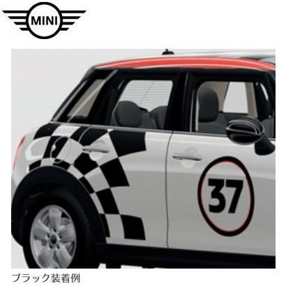 MINI純正 John Cooper Works Pro サイド・ストライプ・セット レーシング37(ブラック)(F55)