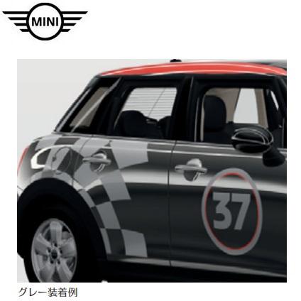 MINI純正 John Cooper Works Pro サイド・ストライプ・セット レーシング37(グレー)(F56/F57)