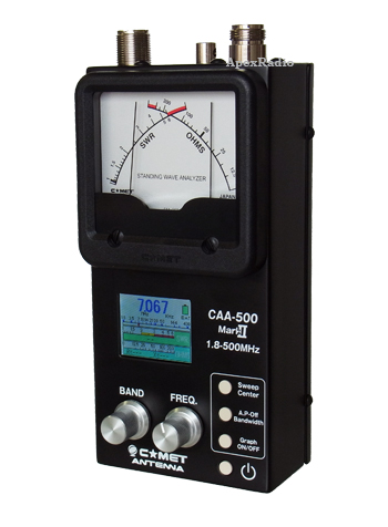 CAA-500 Mark2 コメット スタンディングウェーブアナライザー (1.8-500MHz) (CAA500) (アマチュア無線)