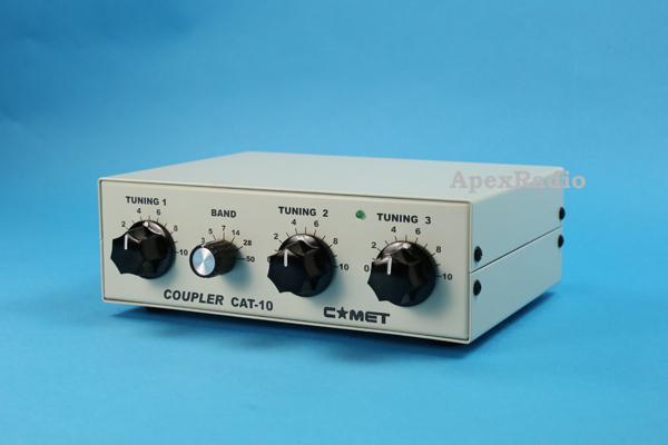 CAT-10 アンテナカプラー コメット 3.5MHz ~ 50MHz マニュアル式 (CAT10) アマチュア無線 BCL