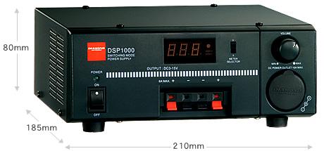 安定化電源 直流 第一電波工業 DSP1000 (DSP-1000) (スイッチング式 DC3-15V / 10A)