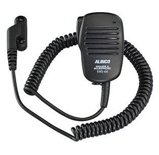 EMS-66 スピーカーマイク  アルインコ DJ-DP50H / DJ-DPS50用  (EMS66) ライセンスフリー無線