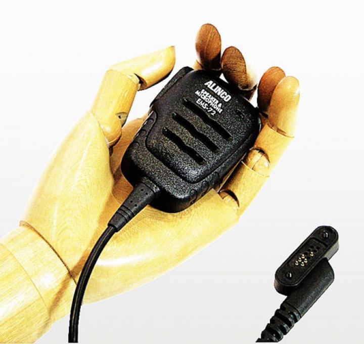 EMS-72 防塵・防水スピーカーマイク  アルインコ DJ-DP50H DJ-DPS50, DJ-DP10用  (EMS72) デジタルトランシーバー用ライセンスフリー無線