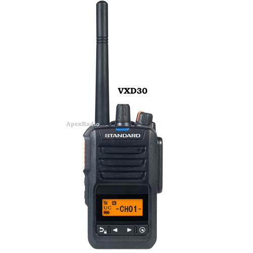 VXD30 携帯型デジタルトランシーバー スタンダード 携帯型デジタル簡易 (本格派業務用ハイパワー) (VXD-30)ライセンスフリー無線