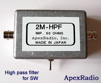 中短波-VLow受信アンテナ AM HF ラジオ受信 【SP】 ApexRadio LS300A