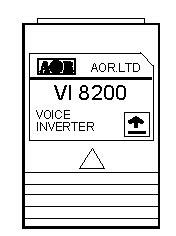 エーオーアール VI8200 <BR>ボイスインバータカード  AR8200/AR8600用 (AOR)