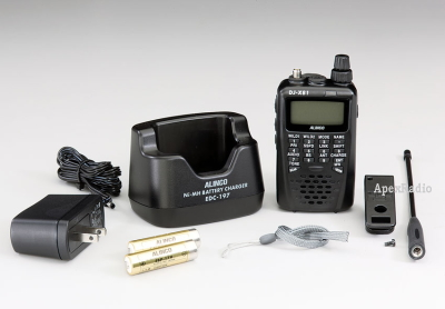 DJ-X81 ハンディ レシーバー アルインコ (緊急警報放送・ワンセグ音声対応) (DJX81) (ALINCO) 受信機 アマチュア無線 BCL