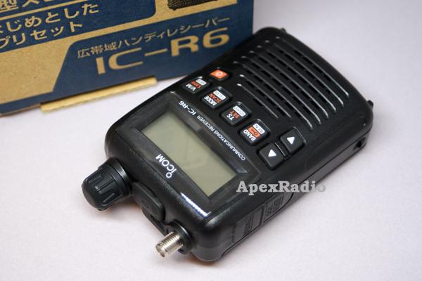 集成电路-R 6 + SRH789 国际博协宽带接收机 + 杆天线组 (ICR 6 + SRH 789) 接收机