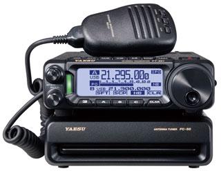FC-50 オートアンテナチューナー ヤエスHF/50MHz (小型・高速・耐入力100W)  (FT-891用)(FC50) アマチュア無線