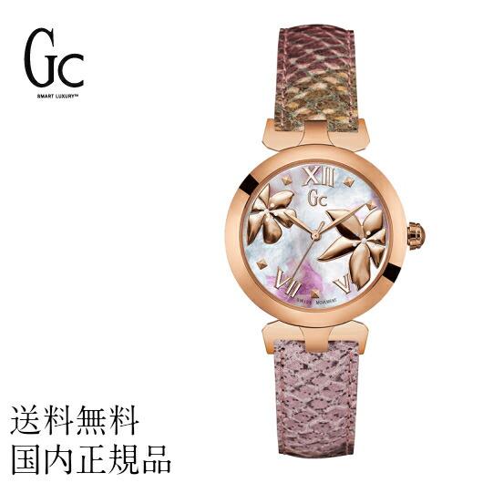 【送料無料】Gc ジーシー 女性用腕時計 腕時計 Y22002L3 スイスブランド ラグジュアリー watch 高級 エレガンス マザーオブパール ファインセラミック スマート アクセサリー レディース ギフト プレゼント 贈り物 国内正規品