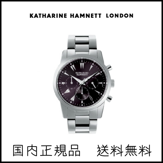 【送料無料】キャサリンハムネット/メンズ腕時計/腕時計/その他/ステンレススチール/クロノグラフ/男性/WATCH/CHRONOGRAPH5_KH20A5B29
