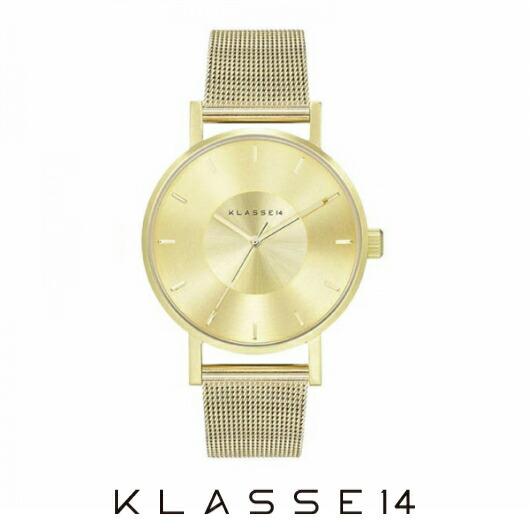 【送料無料】並行輸入品 KLASSE14 クラスフォーティーン VO14GD002W 腕時計 レディース 女性用腕時計 ステンレススチール ギフト 贈り物 プレゼント シンプル ペアウォッチ クリスマス WATCH watch