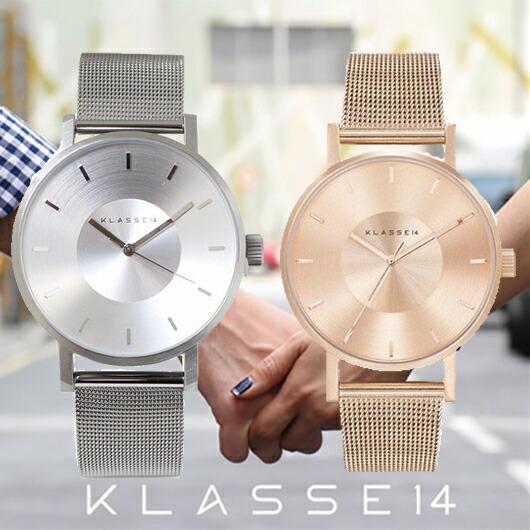 【送料無料】並行輸入品 KLASSE14 クラスフォーティーン VO14SR002M VO14RG003W ペア 腕時計 メンズ レディース ステンレススチール ギフト 贈り物 プレゼント シンプル ペアウォッチ おしゃれ WATCH watch