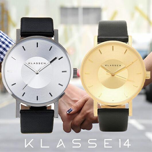 【送料無料】並行輸入品 KLASSE14 クラスフォーティーン VO14SR001M VO14GD001W ペア 腕時計 メンズ レディース イタリア製高級レザー ステンレススチール ギフト 贈り物 プレゼント シンプル ペアウォッチ おしゃれ WATCH watch
