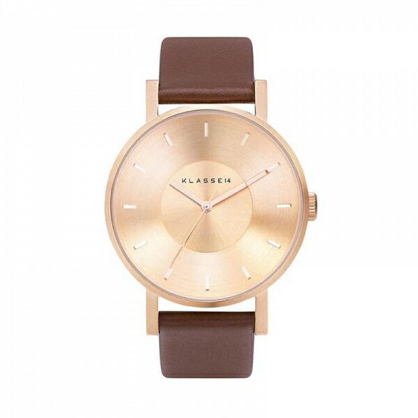 【送料無料】並行輸入品 KLASSE14 クラスフォーティーン VO14RG002M 腕時計 メンズ 男性用腕時計 イタリア製高級レザー ステンレススチール ギフト 贈り物 プレゼント シンプル ペアウォッチ おしゃれ WATCH watch
