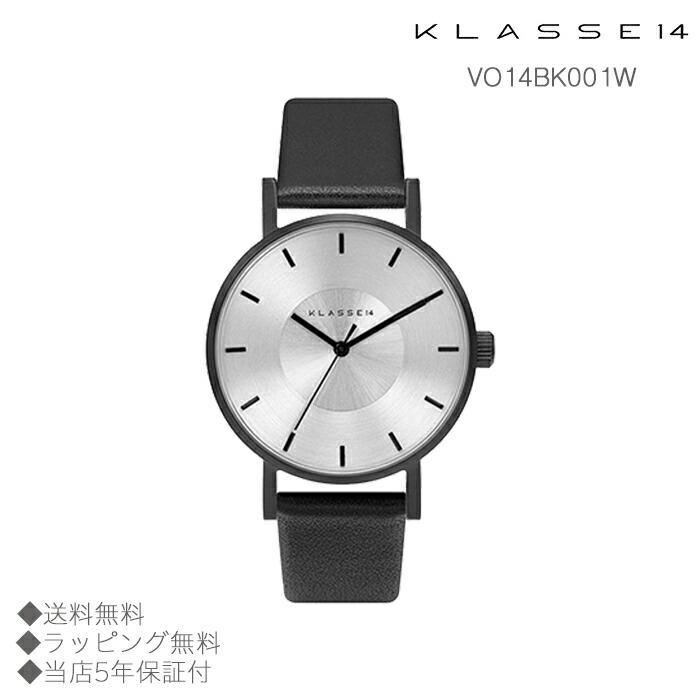 【送料無料】並行輸入品 KLASSE14 クラスフォーティーン VO14BK001W 腕時計 レディース 女性用腕時計 イタリア製高級レザー ステンレススチール ギフト 贈り物 プレゼント クリスマス ペアウォッチ おしゃれ watch