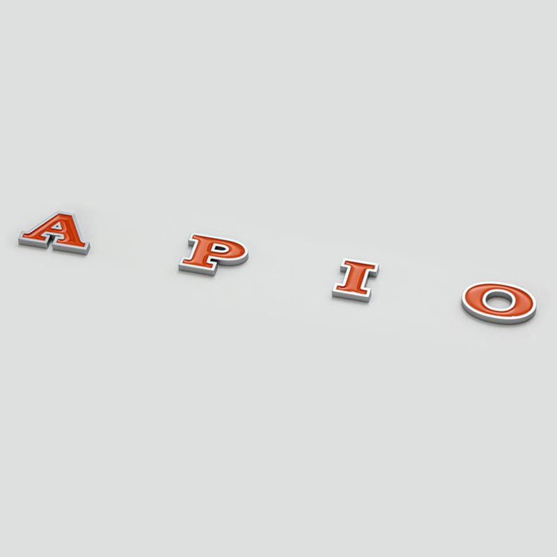 アピオ オリジナルエンブレム APIO ご注文で当日配送 ヴィンテージアイアングリル アイテム勢ぞろい ブロンコ風グリル用 アメリカンエンブレム