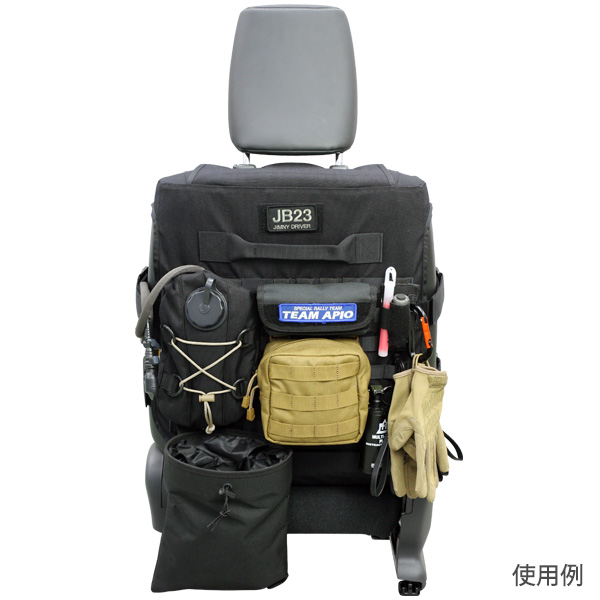 タクティカルシートジャケット ジムニーJB23-5型,JB43-4型以降用シートカバー 【アピオ パーツ】