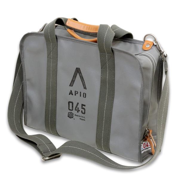 APIO A4 Document Bag A4ドキュメントバッグ(横浜帆布鞄)