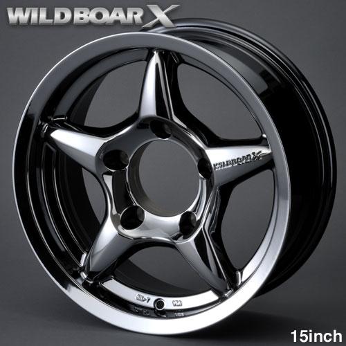 WILDBOAR X 15 inch 하이파크로무메타릭크짐니 JB43, JB33, JB32, JB31용 알루미 휠