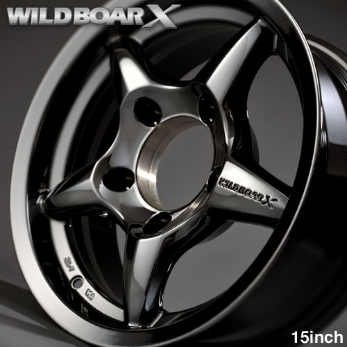 JB33,JB31,WILDBOAR X 15 英寸 hypercrormmetallick jimny JB43 JB32 铝合金车轮