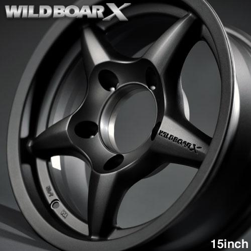 WILDBOAR X 15inch 건 블랙 짐 니 JB43, JB33, JB32, JB31 용 알루미늄 휠