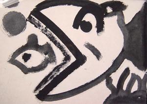 ban rom sai 絵画・アート(版画)/魚/メルヘン