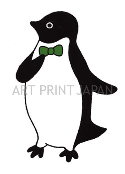 坂崎 千春 絵画・アート(版画)/ちいさな紳士・アデリーペンギン/ペンギン