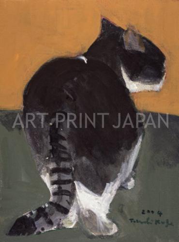 久下 貴史 絵画・アート(版画)/猫の探索者/ねこ・ネコ・猫