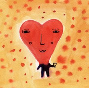 ドナ・ウィルソン 絵画・アート(版画)/A man in love/メルヘン