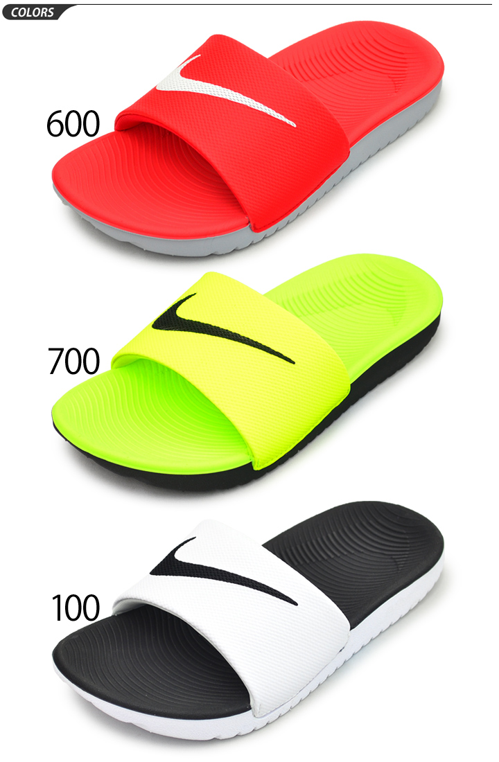 b662f629889653 APWORLD KIDS  Shower sandals kids Jr. child NIKE Nike kava slide GS ...