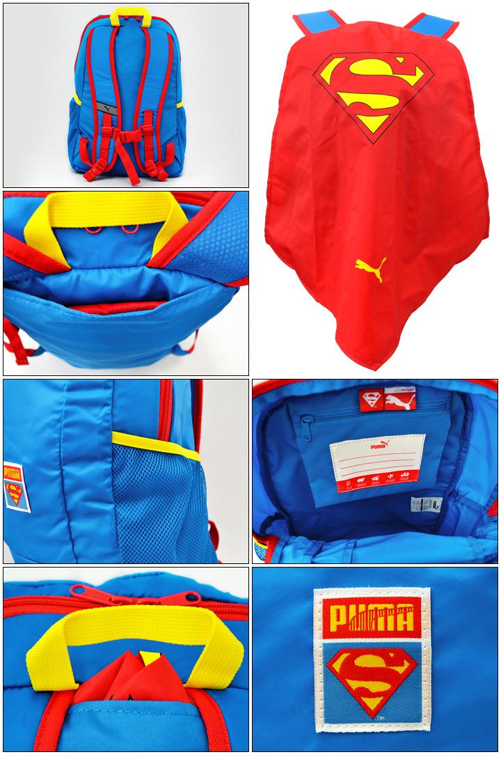 cbd30a8b6090f APWORLD KIDS  Puma rucksack PUMA superman cape backpack blue kids ...