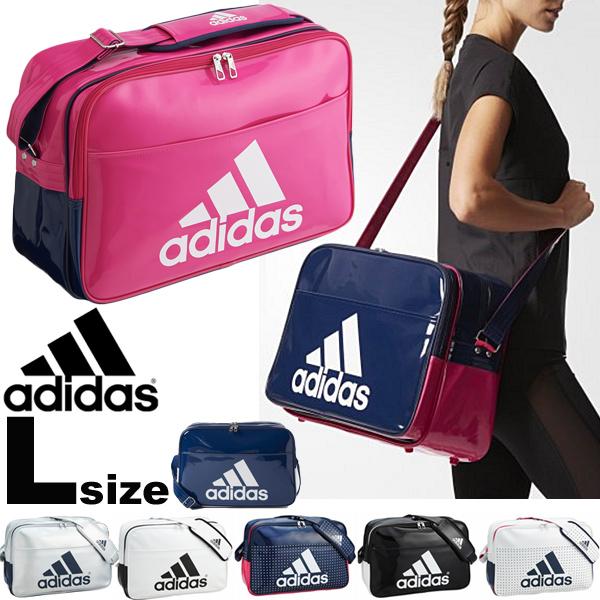APWORLD KIDS  Enamel bag sports bag shoulder bag Adidas adidas large ... 6962409d2fc64