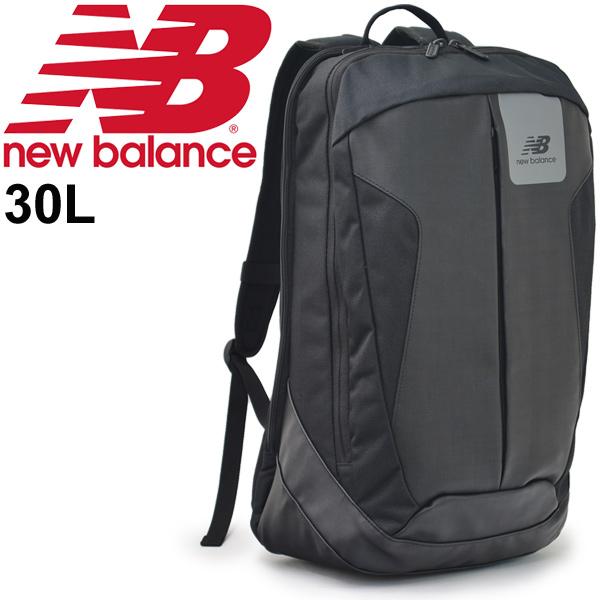 バックパック メンズ レディース/ニューバランス newbalance パネルオープンバックパック 24L/スポーツバッグ リュックサック カジュアル かばん デイパック ザック 通勤 通学 鞄 黒 ブラック/JABL8218