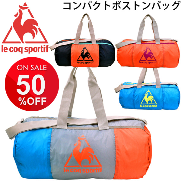 3b1a258fcb Boston bag Le Coq Le Coq Sportif duffel bag sports bag compact mobile big  logo men ...